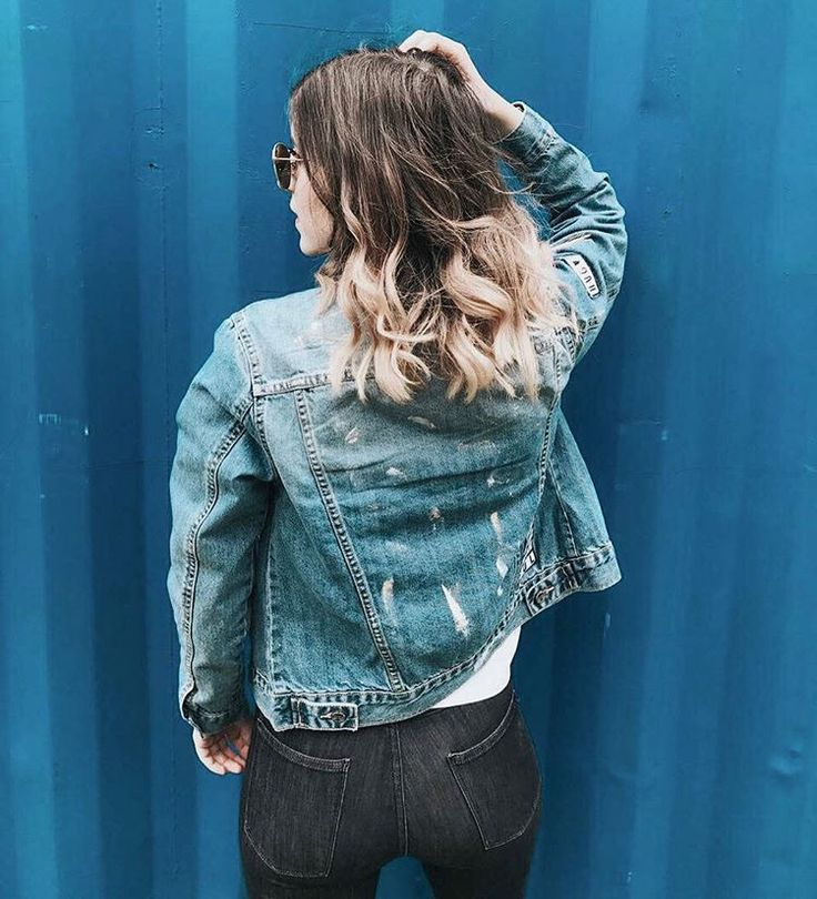 A real woman is whatever the hell she wants to be. Girlpower, grlpwr, denim, jeans, ombré hair, hairstyle, ombrehair, summer, inspo, waves, beach waves, hair, denim jacket, inspiration, girls, girl, streetstyle, ootd, outfit, outfits, streetstyled