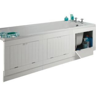 Buy Storage Bath Panel - White at Argos.co.uk - Your Online Shop for Bath panels.