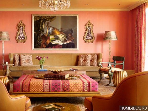 Модный интерьер 2016 в квартире: фото, модные стили, цвета, приемы, декор интерьера в 2016