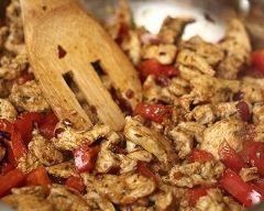 Escalopes de poulet et poivrons marinés à la plancha | Cuisine AZ