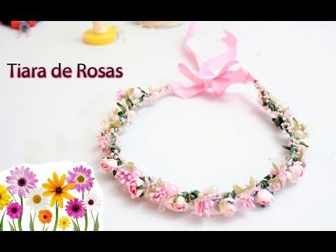 Coroa de Flores ! passo a Passo ! By Dy Mello ! DIY Wreath of flowers - YouTube
