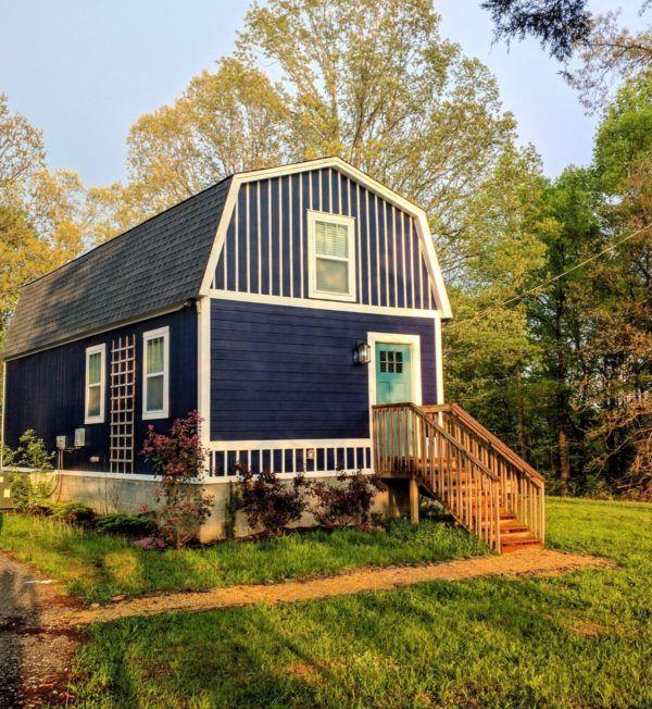Jason S Tiny Barn Cabin With Land Near Nashville Tn For Sale Tiny House Cabin Small House Design Barn House Interior