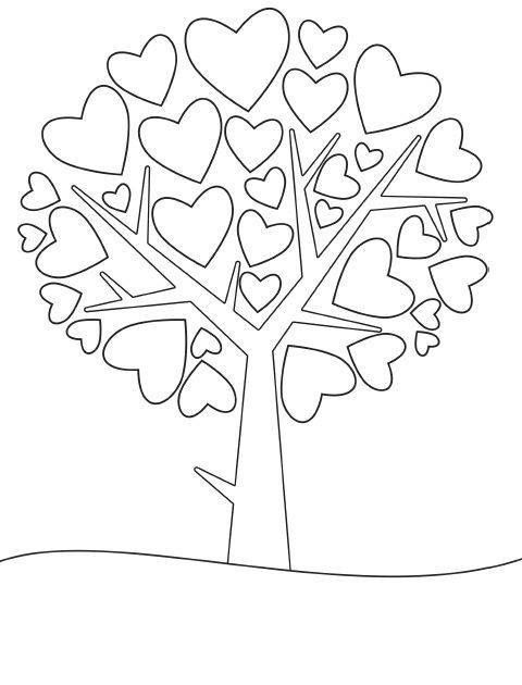 Pin By Tamarisk On Mandala Heart Coloring Pages Coloring Pages Preschool Valentines