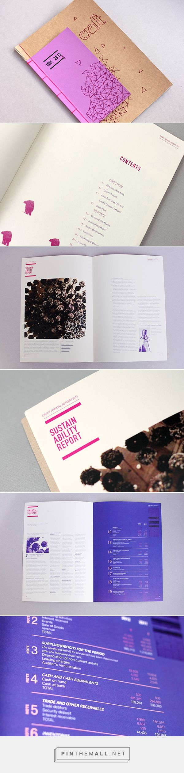 Craft Annual Report on Behance - created via https://pinthemall.net                                                                                                                                                                                 More