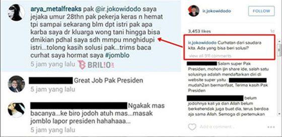 Arya_Metalfreaks Pria Yang Lapor Ke Presiden Jika Dirinya Hingga Kini Masih Jomblo
