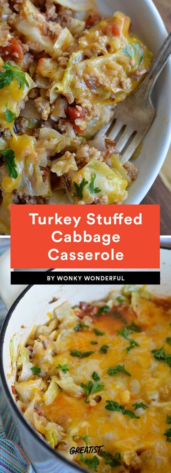 It's not just for St. Patty's Day. #greatist https://greatist.com/eat/stuffed-cabbage-recipes