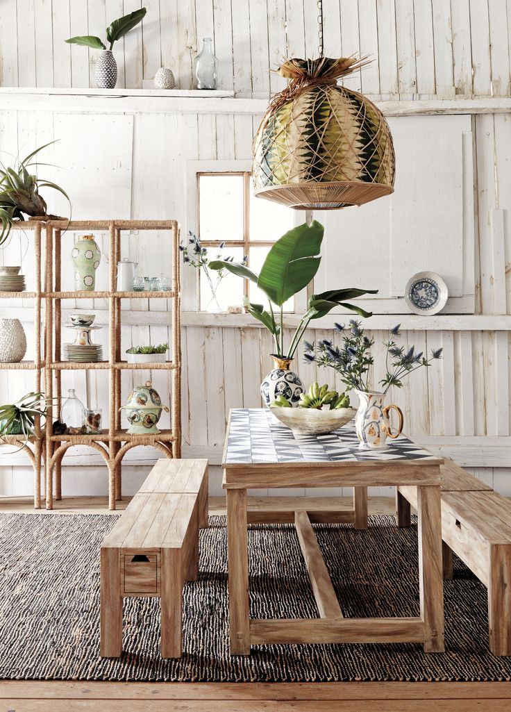 Sura Dining Table #Anthropologie