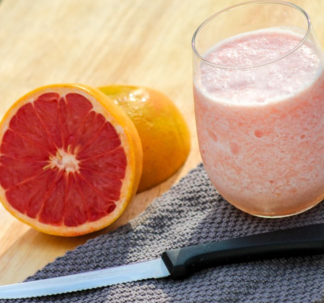 Grapefruit Smoothie 1 Grapefruit Smoothie | Refreshing and Delicious