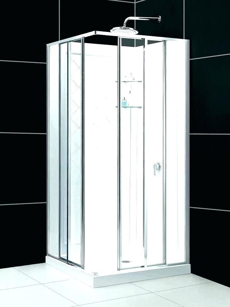 Small Shower Stall Kits Corner Stalls And Lowes Small Shower