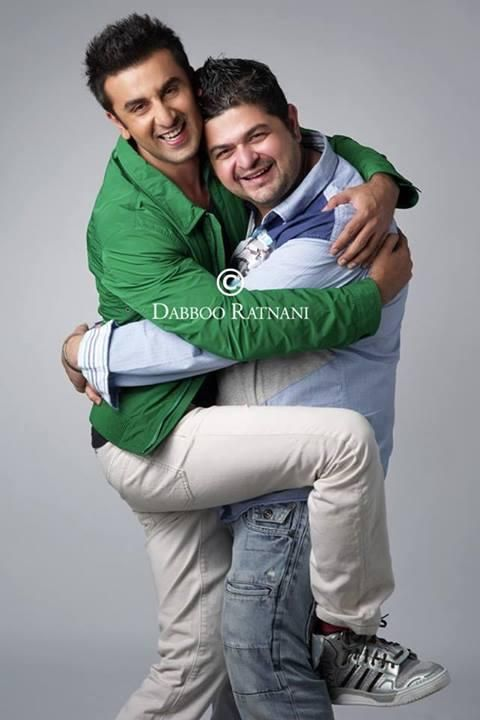 Ranbir Kapoor gets a tight hug from Daboo Ratnani
