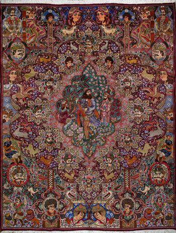Kashmar Persian Rug Buy Handmade Kashmar Persian Rug 9