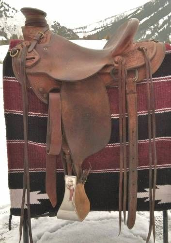 Kent Frecker Wade Saddle for Sale - For more information click on the image or see ad # 32023 on www.RanchWorldAds.com