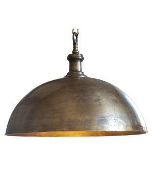 Hanglamp industrieel brons