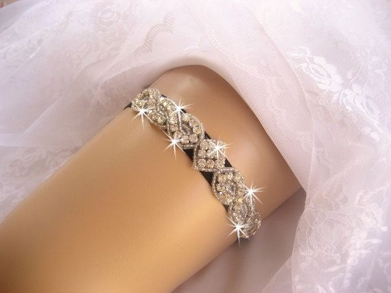 Prom Garter / Wedding Garter /  Black Garter #weddings #clothing @EtsyMktgTool http://etsy.me/2fl5veb