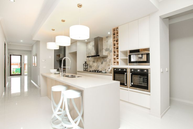 Centrally located Kitchen with Butlers Pantry.  #ModernLiving #Kitchen #DisplayHome #ModernHouse #MimosaHomes www.mimosahomes.com.au