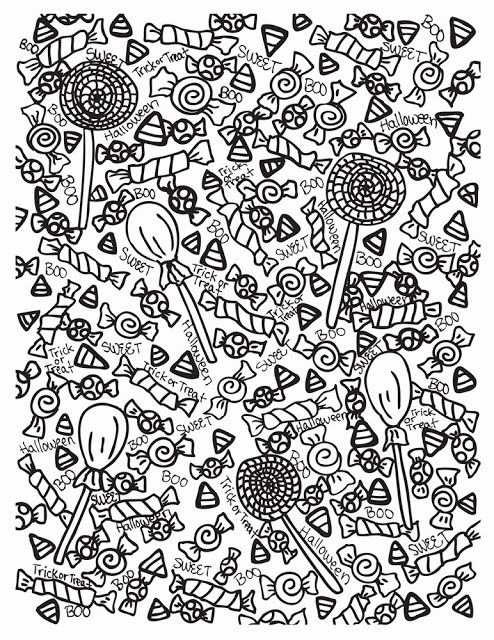 Abstract Halloween Coloring Pages : Best images about abstract doodles on pinterest u