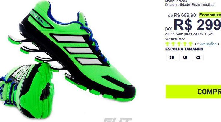 Tênis Adidas Springblade Ignite TF << R$ 23992 >>