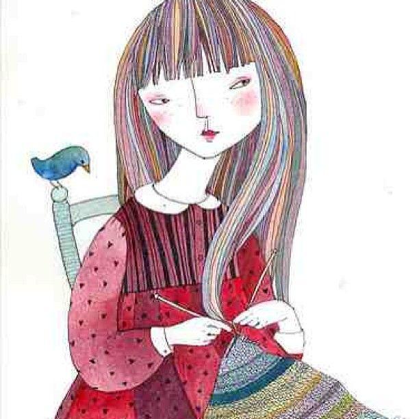 loopymango:  #spring #knitting (at Loopy Mango)