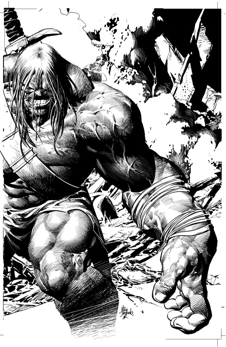 Skaar by Mike Deodato Jr.