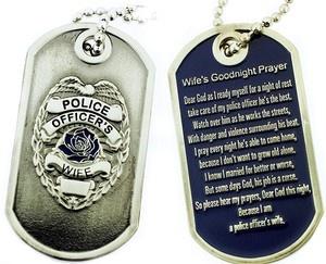 Police Officer Wife Prayer  ***Love the prayer!