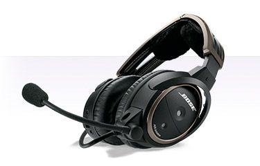 A20 Aviation Headset med dubbla GA pluggar, Bluetooth | Bose