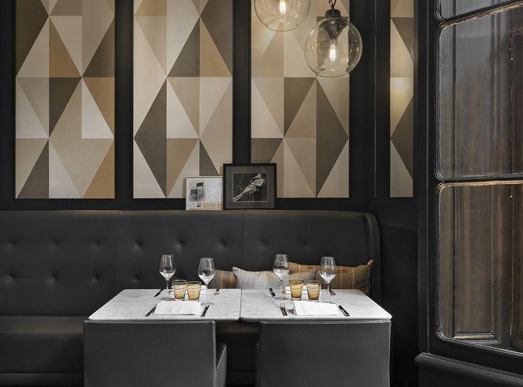 Charles Zana | Restaurant Artcurial Hospitality - Hospitality furniture  #RestaurantDesign #restaurantfurniture #hospitalitydesign  See more inspirations at: http://brabbucontract.com/projects