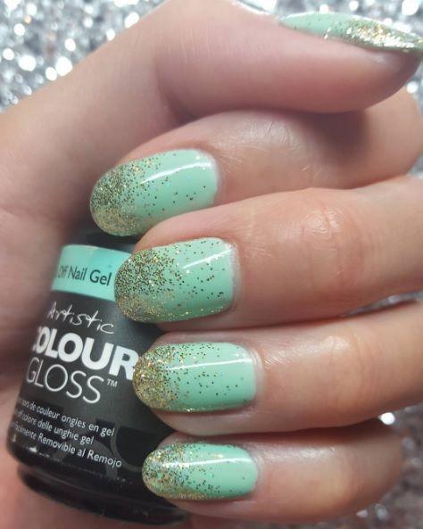 Pastel Nails using Artistic Colour Gloss Charming available at Louella Belle #ArtisticColourGloss #Pastel #PastelNails #NailArt #Nails #Manicure #LouellaBelle