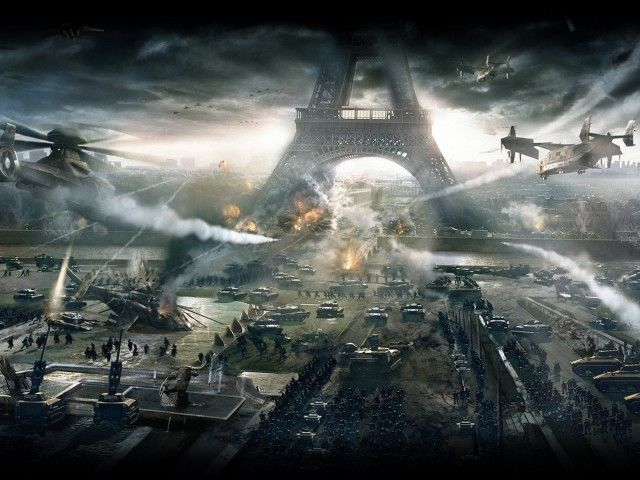 Eiffel Tower Game Wallpaper