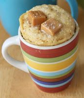 HomeMaker's Cookbook: 2 min - Coffee Mug Cake (Eggless)