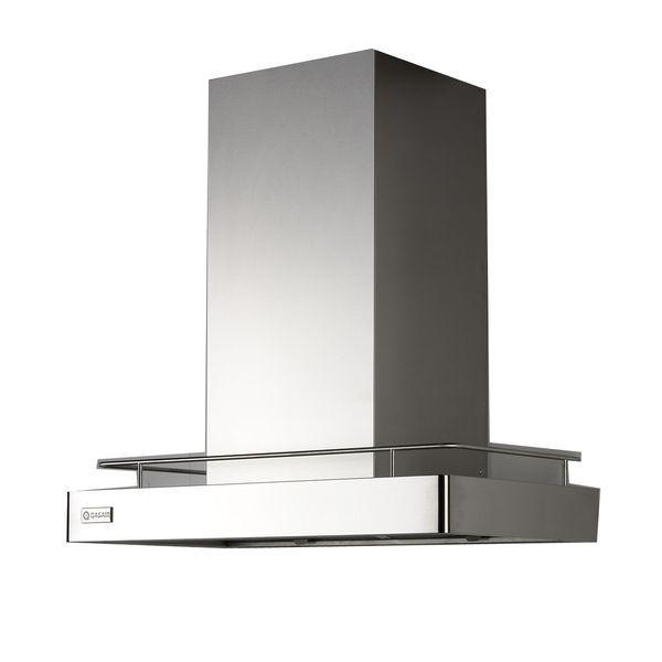Qasair Stainless Steel 90CM Statesman Canopy Rangehood with Rail STAR900L2T. | E Trading - Kitchen, Bathroom & Laundry