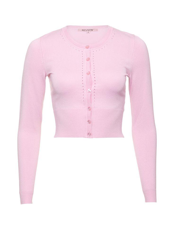 Maggie Long Sleeve Cardi | Blush | Cardigans