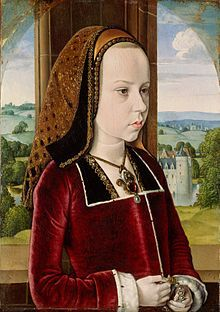 Margaret of Austria, Duchess of Savoy - https://hemmahoshilde.wordpress.com/2015/08/26/margaret-of-austria-double-disaster/ <--- You're welcome to read more about Margaret of Austria on my blog :).