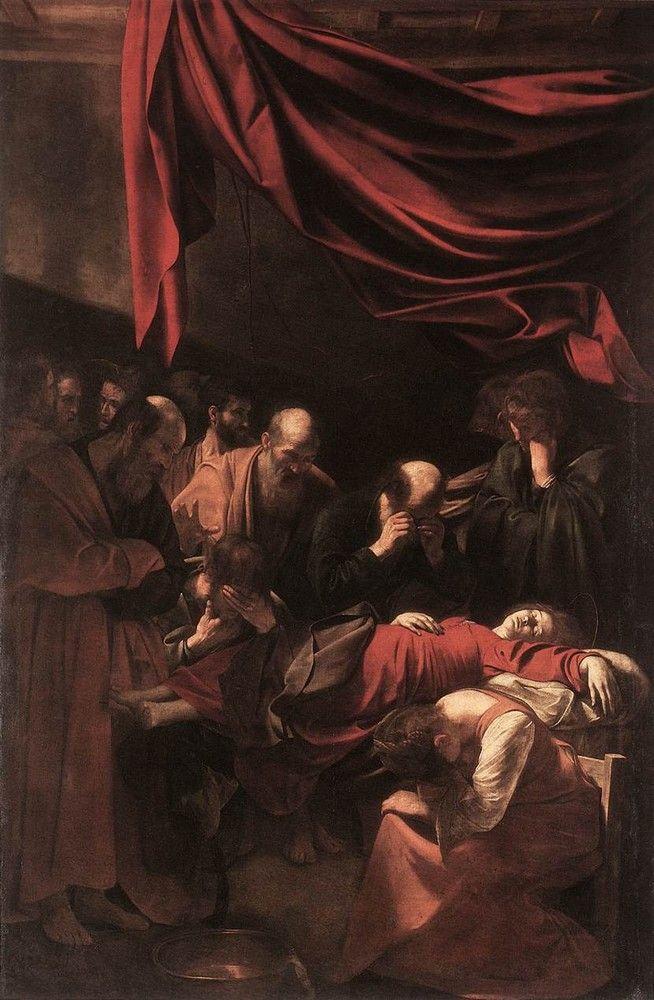 Микеланджело Караваджо. Успение Девы Марии. 1602-1606 гг.