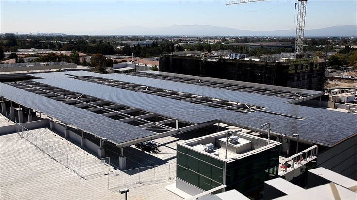 powered by solar at HQ campus.