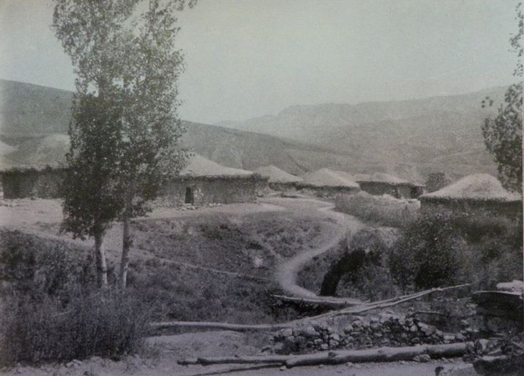 The Kurdish-inhabited village of Pelu (Source: Eberhard-Joachim Graf von Westarp, Unter Halbmond und Sonne, ca 1913, Berlin)