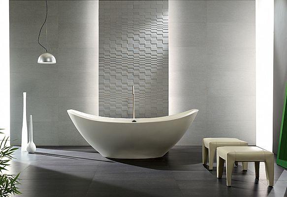 Ceramiche Coem | Basaltina collection #Bathroom #Tiles