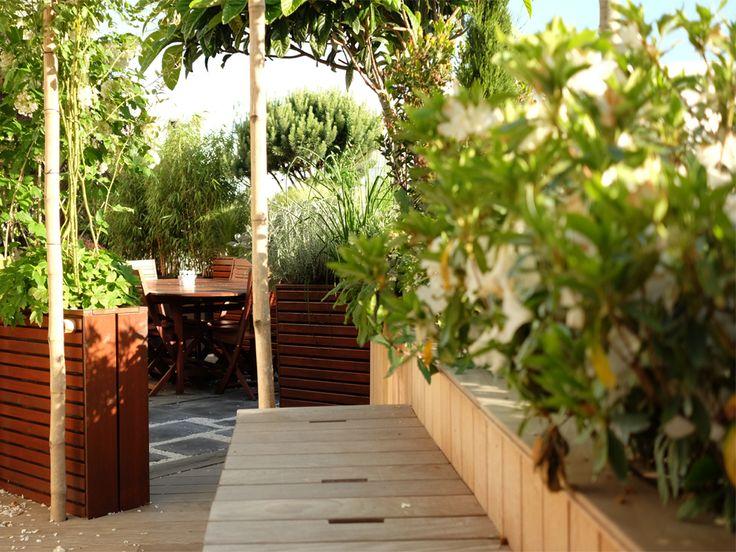 Les 165 meilleures images propos de balcon jardin suspendu sur pinterest jardins toits - Terrasse jardin suspendu montreuil ...