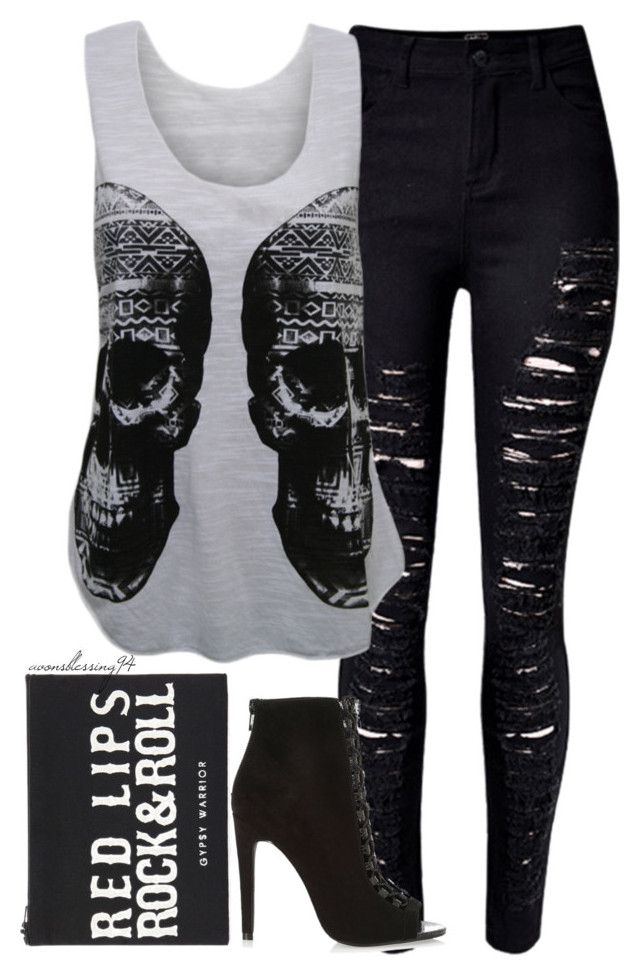 """Rock 'n' Roll, Baby"" by avonsblessing94 ❤ liked on Polyvore featuring WearAll, Forever 21, River Island, women's clothing, women, female, woman, misses and juniors"