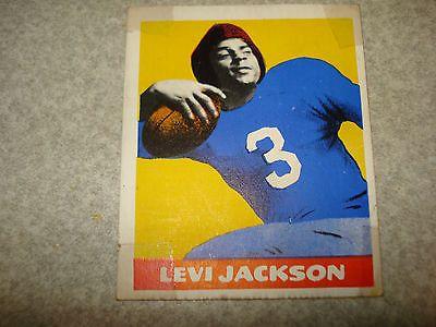 1948 Leaf FOOTBALL Levi Jackson #5 Yale