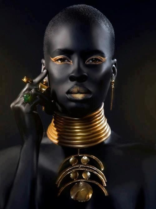 African Jewelry & Neck Rings | #Inspirations | Pinterest | African jewelry, Africans and Dark