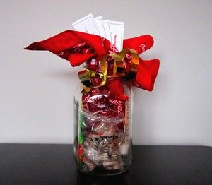 DIY gift for individuals with hearing loss--under $25 to put together. A great use of a mason jar!