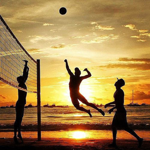 9. I've always wanted to try playing beach volleyball. I've played regular volleyball for 6 years now and beach volleyball has its differences which makes me want to try it. Out of all the times I've been to the beach I've never had the chance and it makes me more eager to play.