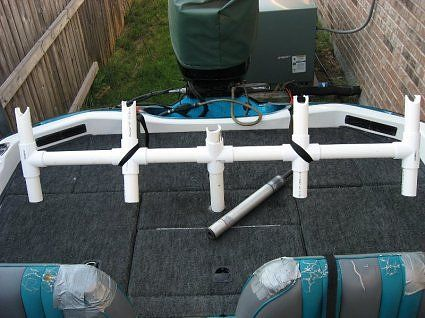 24 best images about boats on pinterest 14 boats and for Diy fishing rod holder for boat