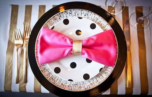 Love this Napkin idea. erin ever after: All that glitters...is a birthday fete