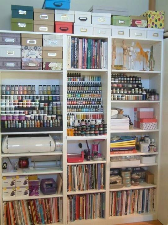 More craft room inspiration.  Picture only