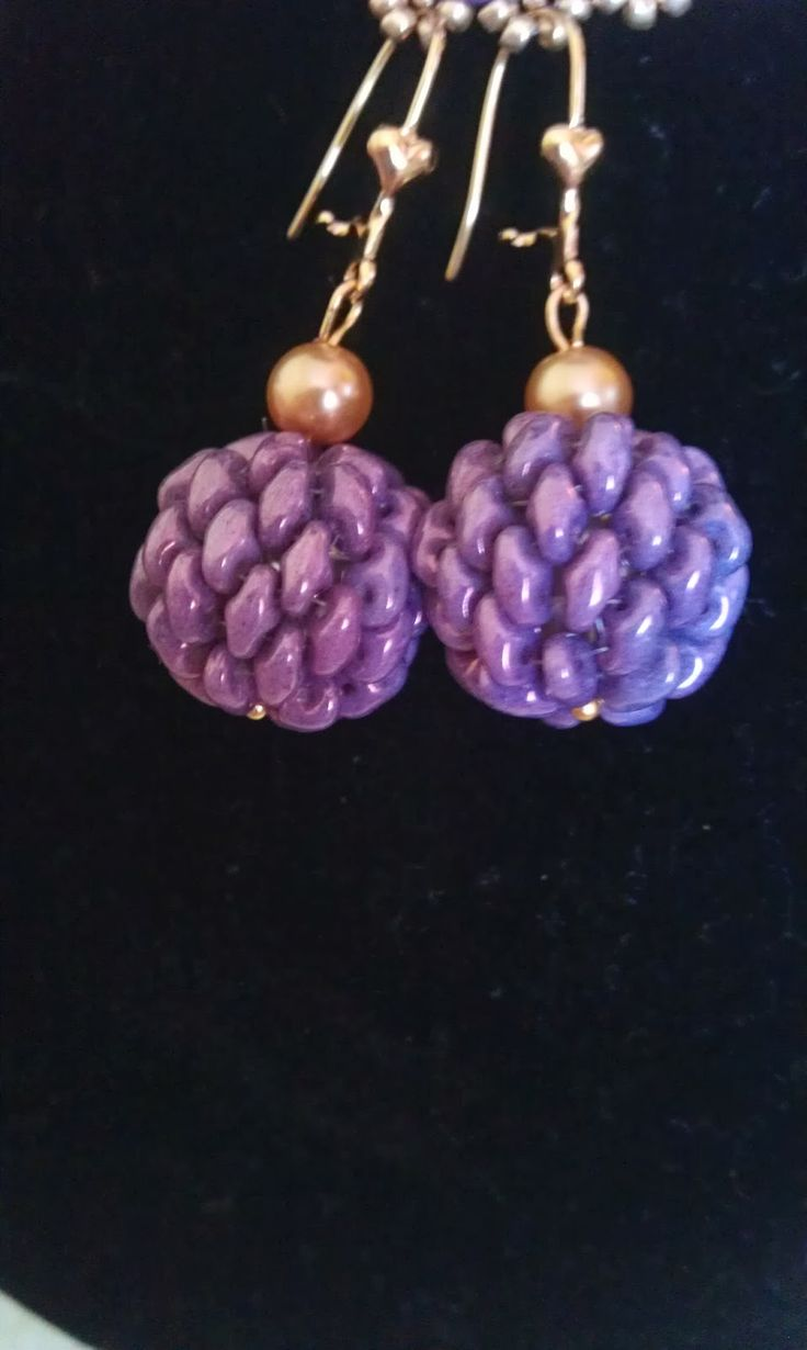 Beads and stuff: Course balls beaded braiding Super Duo - Intuitive method Step by step tutorial Super Duo balls