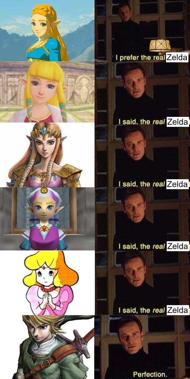 Who Is Your Favorite Zelda Zelda Funny Legend Of Zelda Memes Legend Of Zelda