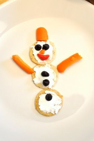 Serve as a playful appetizer at your next dinner party (this will surprise your guests!) or as an afternoon snack for your kids!    Healthy Christmas Snacks and Treats