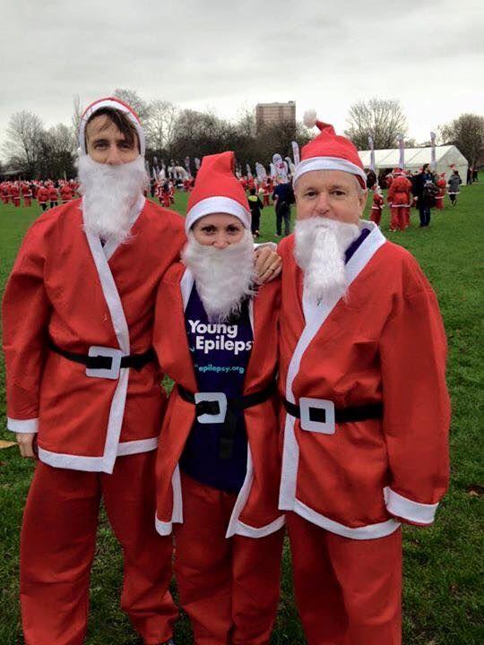 Santa Run London 2015