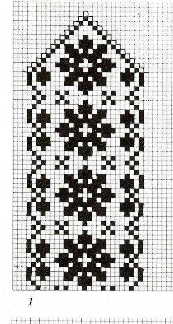 filet crochet snowflake
